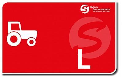 Traktor klein: L